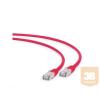 Gembird FTP LSZH kat.6A RJ45 patch kábel; 1m; red