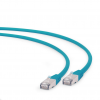 Gembird FTP LSZH kat.6A RJ45 patch kábel; 2m; green