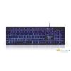 Gembird KB-UML3-01 multimédiás US billentyűzet fekete