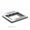 """Gembird MF-95-01 Slim mounting frame for 2.5"""" drive to 5.25"""" bay"""