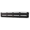Gembird NPP-C624-002 19'' 24-portos 1U Cat6 patch panel