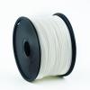 Gembird PLA / Fehér / 1,75mm / 1kg filament