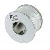 Gembird stranded unshielded 6-core alarm cable  100m roll  white