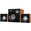 Genius SW-2.1 370 80W fa mintázatú hangszóró