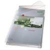 Genotherm, lefűzhető, A4, 170 mikron, narancsos felület, 20 mm, behajtható fül, LEITZ Jumbo 5db/csom