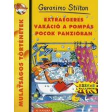 Geronimo Stilton Extraegeres vakáció a Pompás Pocok Panzióban gyermek- és ifjúsági könyv