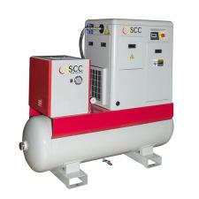 GGA - Csavarkompresszor 15 kW, 10 bar, tartállyal és hűtve szárítóval kompresszor tartozék