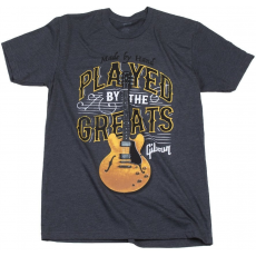 Gibson Played By The Greats T Charcoal Small