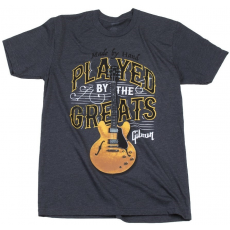 Gibson Played By The Greats T-Shirt Charcoal L