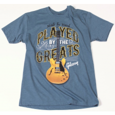 Gibson Played By The Greats T-Shirt Indigo L