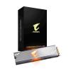 Gigabyte SSD - 256GB AORUS RGB (M.2 2280, PCIe 3.0 x4, NVMe1.3, r:3100 MB/s; w:1050 MB/s)