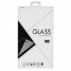 Gigapack Huawei Y6 (2018) kijelzővédő üvegfólia (5D hybrid full glue, íves, edzett üveg...) FEKETE