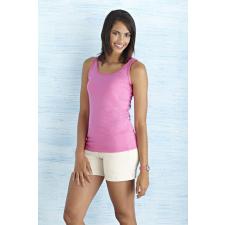 GILDAN női ujjatlan póló, azalea (Gildan női ujjatlan póló, azalea) női póló