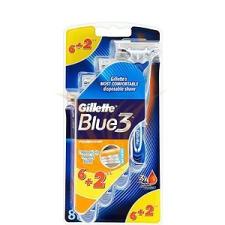 Gillette Blue3 Eldobható borotva 6+2 db eldobható borotva