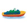 Giplam Óceánjáró kis műanyag játékhajó