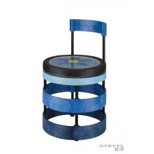 Gitre Szék dobként használható ülőlappal (kék) rock / pop