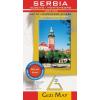 Gizimap Szerbia, Koszovo, Montenegró autótérkép