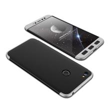 GKK 360 Protection telefontok hátlap tok Első és hátsó tok telefontok hátlap az egész testet fedő Xiaomi redmi NOTE 5A Prime fekete-ezüst tok és táska