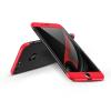 GKK Apple iPhone 7 Plus hátlap - GKK 360 Full Protection 3in1 - Logo - fekete/piros