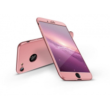GKK Apple iPhone 8 hátlap - GKK 360 Full Protection 3in1 - Logo - rose gold tok és táska