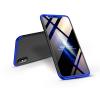 GKK Apple iPhone X/XS hátlap - GKK 360 Full Protection 3in1 - fekete/kék