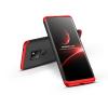 GKK Huawei Mate 20 hátlap - GKK 360 Full Protection 3in1 - fekete/piros