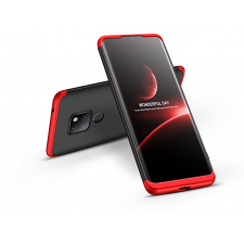 GKK Huawei Mate 20 hátlap - GKK 360 Full Protection 3in1 - fekete/piros mobiltelefon kellék