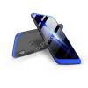 GKK Huawei P20 Lite hátlap - GKK 360 Full Protection 3in1 - fekete/kék