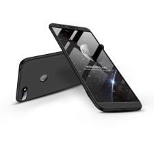 GKK Huawei Y6 (2018)/Y6 Prime (2018)/Honor 7A hátlap - GKK 360 Full Protection 3in1 - fekete tok és táska