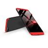GKK Huawei Y7 Pro (2018) hátlap - GKK 360 Full Protection 3in1 - fekete/piros