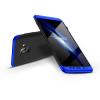 GKK Samsung A530F Galaxy A8 (2018) hátlap - GKK 360 Full Protection 3in1 - fekete/kék