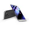 GKK Samsung A605 Galaxy A6 Plus (2018) hátlap - GKK 360 Full Protection 3in1 - fekete/ezüst