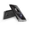 GKK Samsung G960F Galaxy S9 hátlap - GKK 360 Full Protection 3in1 - fekete/ezüst