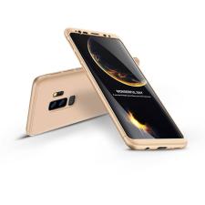 GKK Samsung G965F Galaxy S9 Plus hátlap - GKK 360 Full Protection 3in1 - arany tok és táska
