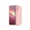GKK Samsung G980F Galaxy S20 hátlap - GKK 360 Full Protection 3in1 - rose gold