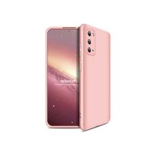 GKK Samsung G980F Galaxy S20 hátlap - GKK 360 Full Protection 3in1 - rose gold tok és táska