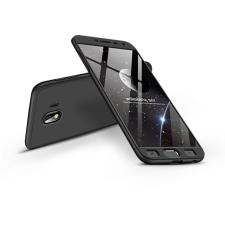 GKK Samsung J400F Galaxy J4 (2018) hátlap - GKK 360 Full Protection 3in1 - fekete tok és táska