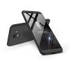 GKK Samsung J610F Galaxy J6 Plus (2018) hátlap - GKK 360 Full Protection 3in1 - fekete