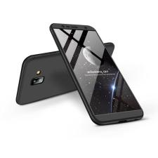 GKK Samsung J610F Galaxy J6 Plus (2018) hátlap - GKK 360 Full Protection 3in1 - fekete tok és táska