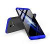 GKK Samsung J610F Galaxy J6 Plus (2018) hátlap - GKK 360 Full Protection 3in1 - fekete/kék