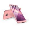 GKK Samsung J610F Galaxy J6 Plus (2018) hátlap - GKK 360 Full Protection 3in1 - rose gold