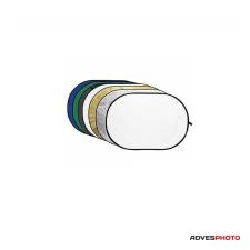 Godox Derítőlap 7in1 80x120 cm (arany, ezüst, fekete, fehér, féligáteresztő, kék, zöld) derítőlap
