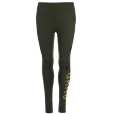 Golddigga női leggings - Golddigga Long Length Leggings Ladies Khaki