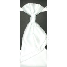 Goldenland Francia nyakkendõ,díszzsebkendõvel - Fehér