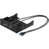 """Goobay Elolapi kivezetés 3,5""""-os helyre 2x USB 3.0 port"""
