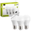 Goobay LED-es körte izzó E27 7W (40W) 470lumen meleg-fehér (3db-os szett)