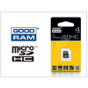 Goodram 4 GB microSDHC™ Class 4 memóriakártya 15/4
