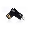 """Goodram Pendrive, 64GB, USB 2.0, 20/5 MB/sec, fémház, GOODRAM """"Cube"""" fekete"""
