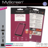 Google Pixel 2, Kijelzővédő fólia (az íves részre NEM hajlik rá!), MyScreen Protector, Clear Prémium