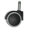 . Görgő irodai székhez, kemény felületre, 10-es, 5 db/csomag, szürke/fekete